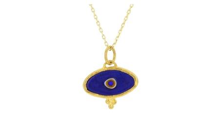 Evil eye pendant, 24kt gold layered evil eye pendant 4ed945bb-538f-493e-be1e-6d464625bd34