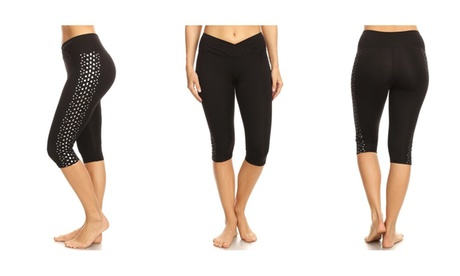 About Yoga Life Activewear Running Cut out Capri (Not See Through) 6ecc65fb-d161-4f3c-9442-2cc0ec01726d