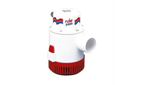 56D-24 Rule 4000 Non-Automatic Bilge Pump - 24V photo