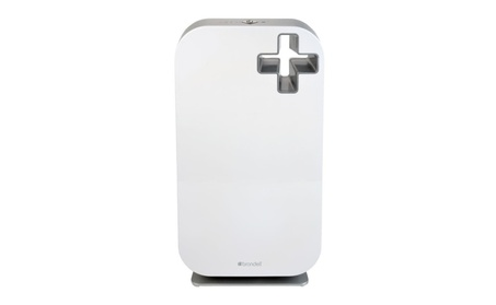 Brondell O2+ Source True HEPA Air Purifier, White 5f80753b-37a2-4f98-8d73-763b018cdb8b