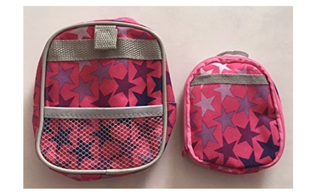 Star Backpack & Lunchbox Set For Your American Girl Doll d8d5f69a-3027-4510-baad-fc835f157155
