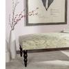 Safavieh Upholstered Simba Bench