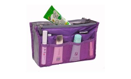 Purse Organizer Insert Handbag Organizer Bag in Bag Women Travel Cosmetic Pouch (Goods Health & Beauty Cosmetics Bags & Cases Bags) photo