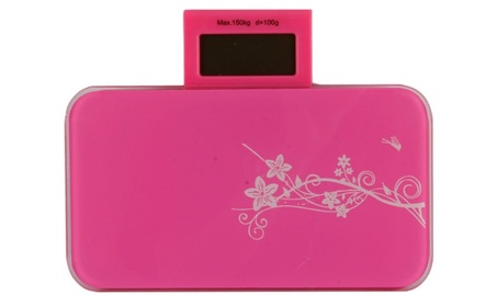 LCD Body Digital Bath Scale 0.6MM Toughened Glass Pink 6fb437ec-bc49-4810-ae3e-b0a3713bf27f