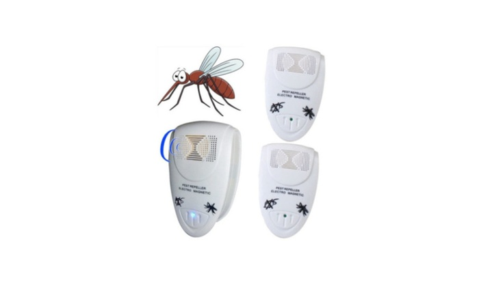 Ultrasonic Pest Repeller Electronic Anti Mosquito Rat Mice Bug Flea