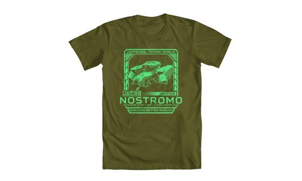 GEEK TEEZ Alien Inspired USCSS Nostromo Mens Tank Top