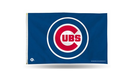 Chicago Cubs Banner Flag 3' x 5' cd6b66f7-50ef-4879-a89a-6bbc444b9f05