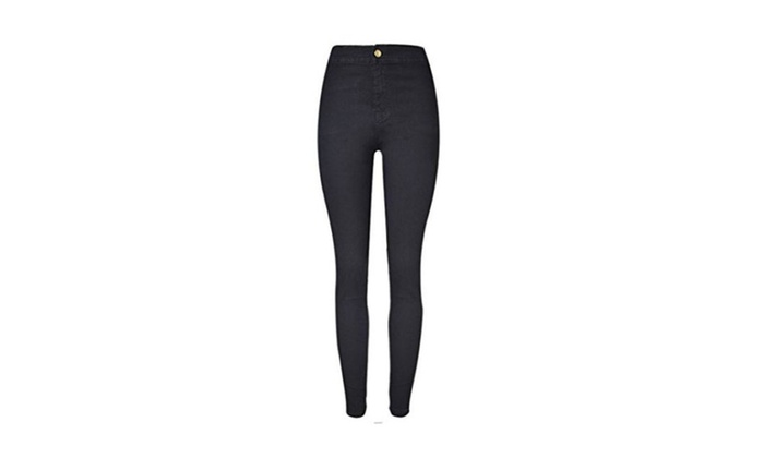 Women's High Waist Stretchy Skinny Jeans Pencil Pants Jeggings