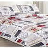 Charlotte Reversible Printed Quilt Set (3-Piece)