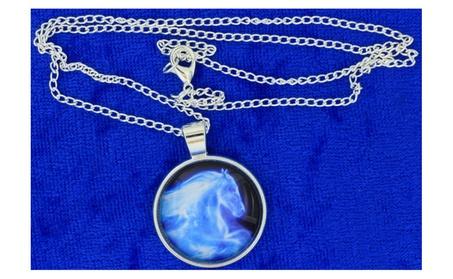 Horse Patronus Necklace Ginny Weasley Ghost Spirit dbdaf50d-6337-4b58-ba96-732ed045c92c