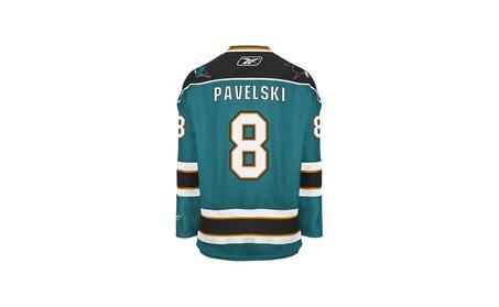 San Jose Sharks Joe Pavelski Reebok Teal Premier Jersey 59a5f791-f1c3-4585-aab6-647c02011d8f