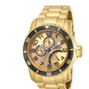 15343 Invicta Pro Diver Men 48.8mm Stainless Steel Gold Gold dial
