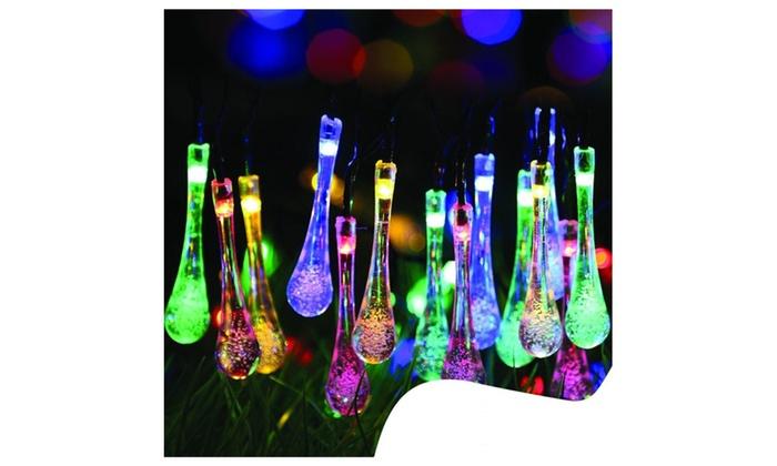 Solar Flower LED String Lights...