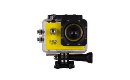 High Speed HD 1080P Action Sports Camera GoPro Style Bundle Waterproof