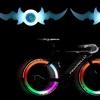 Bike Wheel Spoke LED Flashing Lights (Set of 2)