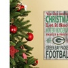 "NFL 'Tis the Season 11""x19"" Holiday Sign"