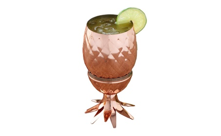 Stainless Steel Pineapple Moscow Mule photo
