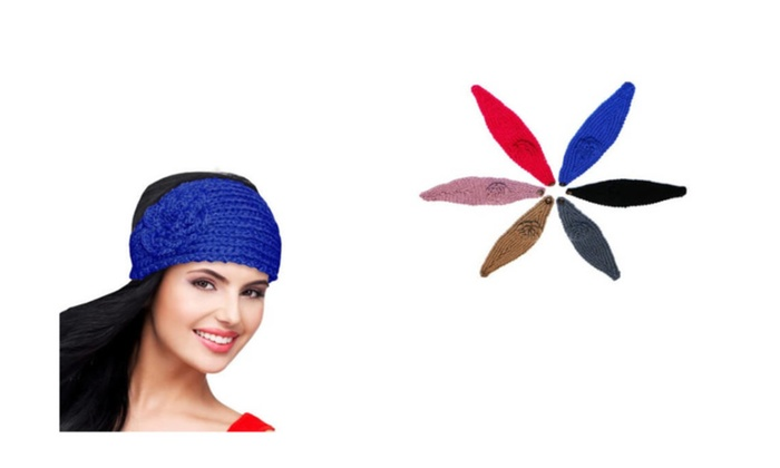 3 Packs New Style Floral Ear Warmers Cold Weather Accessories