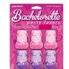 Bachelorette Party Shot Glasses - 6 Pieces - Assorted Colors