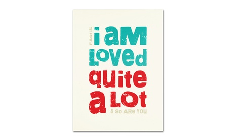 Megan Romo 'Loved a Lot II' Canvas Art 81adc711-086b-43af-a7dc-20e93c96396e