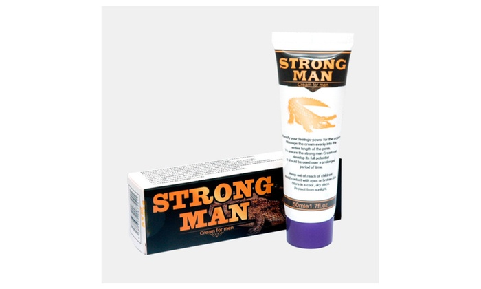 Strong Man Developpe Sex Penis Enlargement Cream Growth Thickening 50g