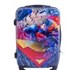 DC Comics Superman 21 Inch Spinner Rolling Luggage Suitcase