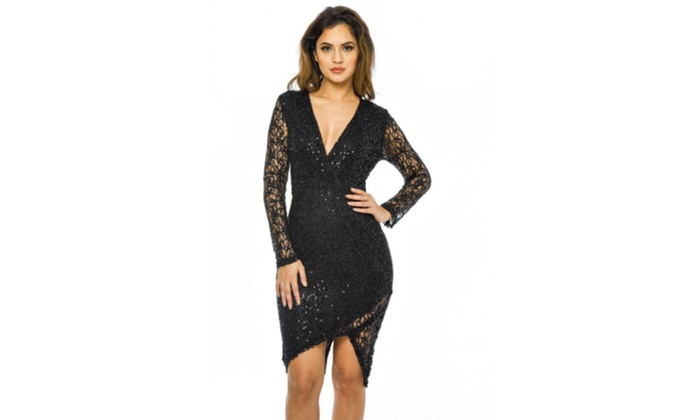 2ba423be31b Up To 27% Off on AX Paris Women s Sequin Wrap ...