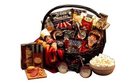 Hes A Motorcycle Man Gift Basket 90cd024c-d3fa-4b58-a91c-766e84e29c59