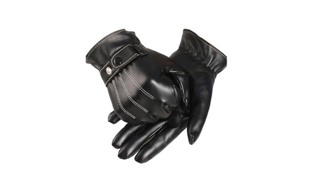 Leather Gloves Motorcycle Driving Winter Warm Touch Screen ed9ef16f-39a5-446d-ae3d-96d4d190b13e
