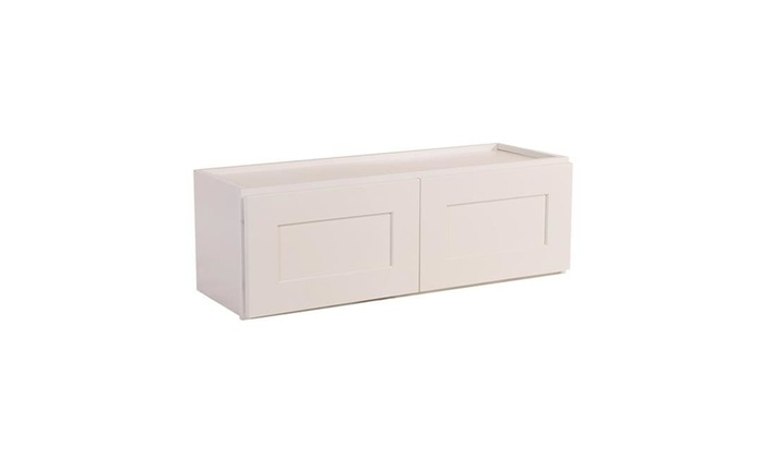 Design House 561662 18 X 30 X 12 In. Brookings Corner Wall Cabinet White  Shaker