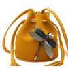 Dragonfly Bucket Clutches Cross-body Bag for Women