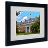 CATeyes 'Graduate School' Matted Black Framed Art