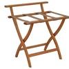 Wooden Mallet WallSaver Luggage Rack Medium Oak Finish LR4-MOTAN