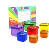 Planner and (7pc) Portion Control Container Set