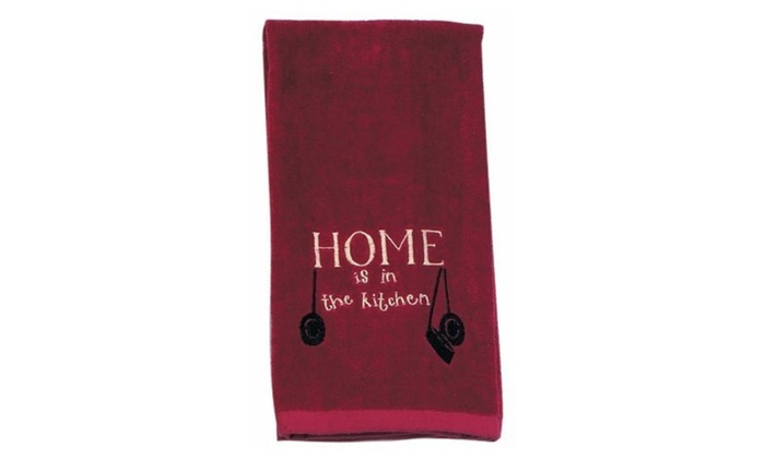Kay Dee Designs R1278 Home Embroidered Terry Kitchen Towel Pack Of 6 ...