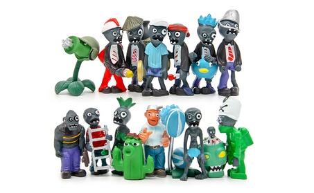16Pcs Plants vs Zombies Toy Series Crazy Dave Zomboss Game Role Figure bdf3de74-c0ad-4280-b0dc-abdce90c98bd