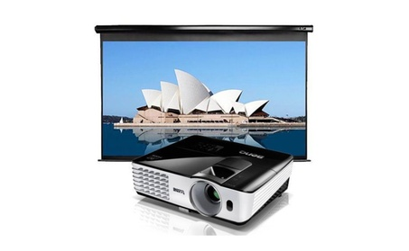 Complete Home Projector Screen & Portable Projector HD 1080P 865538c0-a1ff-4865-80c1-0d040ec40e79