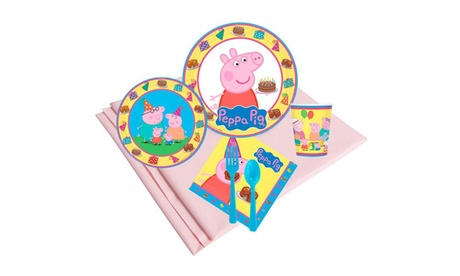 Peppa Pig 24 Guest Party Pack 45d3a3ad-a321-4e92-b6eb-58a028920fca
