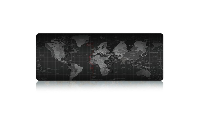 Extended world map gaming mouse pad keyboard pad full desk coverage gumiabroncs Gallery