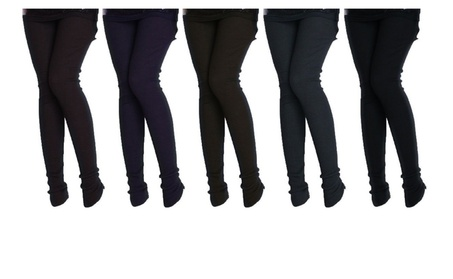 Savannah Ladies Fleece Lined Ribbed Footless Tights b6684a9f-6425-494a-abe7-a7f50eeab91c