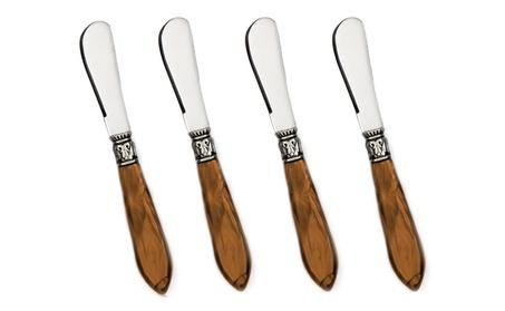 4 Piece Spreader Knife Set Dishwasher Safe photo