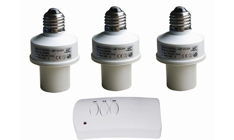 3-Pack of Wireless Remote Control Light Bulb Sockets 378ef928-9cc7-4044-9431-f52fb66d48c6