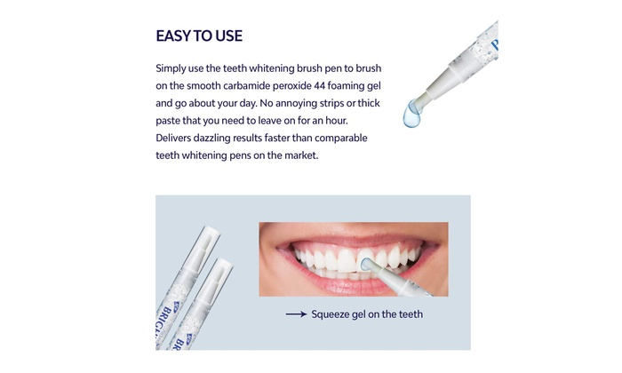 Up To 77 Off On Teeth Whitening Pen 2 Pack 2 Groupon Goods