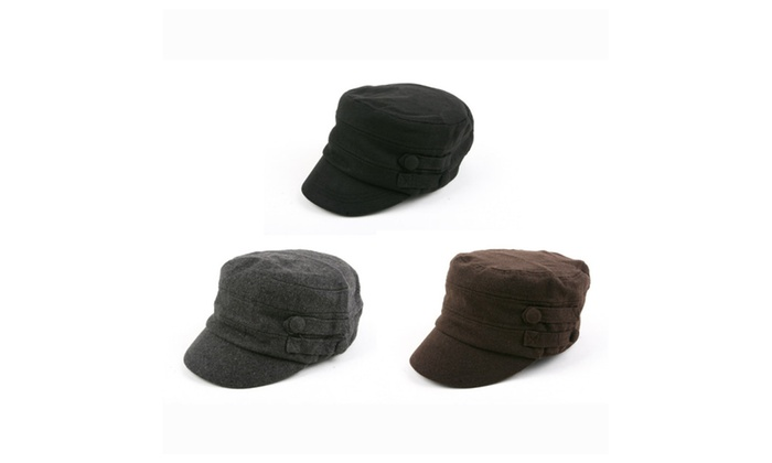 Women's Military Cadet Style Winter Hat P241