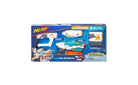 Image is loading Nerf-Gun-Gatling-Blaster-Foam-Gun-Toy-Belt-