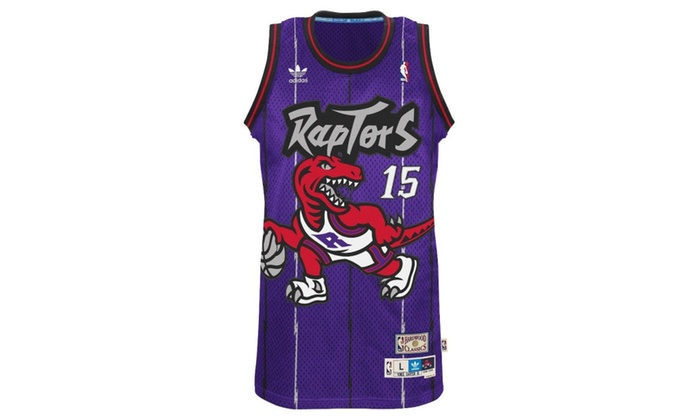 Vince Carter Toronto Raptors Purple Throwback Swingman Jersey
