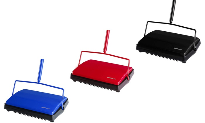 Casabella Carpet Sweeper 11 Non Electric Floor Cleaner Groupon
