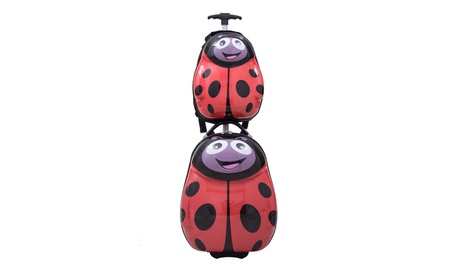 "2Pc 13"" 19"" Kids Luggage Set Suitcase Backpack School Travel d7963a08-d8e5-4f76-b2e0-9fb8211d8409"