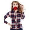 Women's Long Sleeve Blouse Top Office Lady Shirt