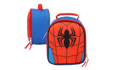 Spider-Man Chest Shaped Lunch Bag, 10 inch ca11d7f5-3351-416b-a15b-77b2a584b667